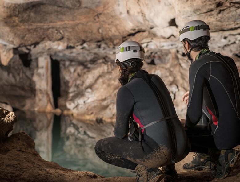 Speleo et canyoning sport de la nature